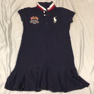 Navy Shirt-Dress